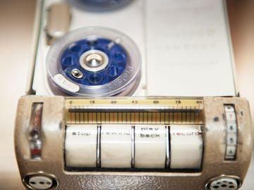 Tonbandgerät aus MfS-Beständen.
