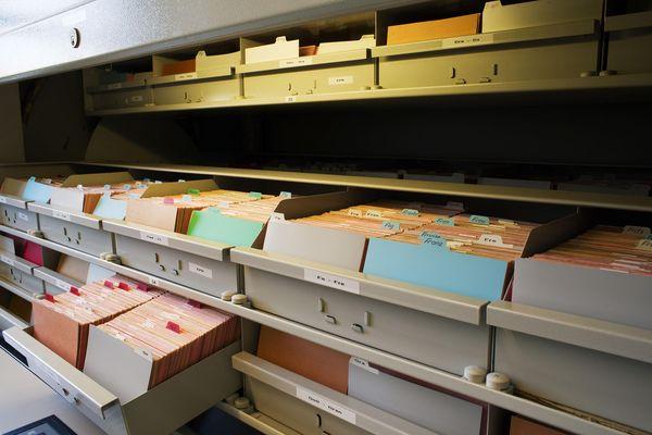 Die Kartei im Stasi-Unterlagen-Archiv Frankfurt (Oder)