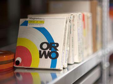 Tonträger im Stasi-Unterlagen-Archiv Berlin