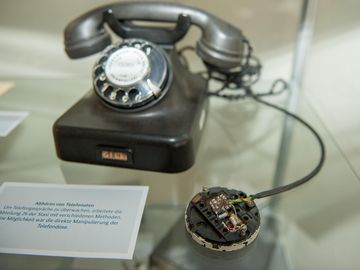 Beispiel für ein abgehörtes Telefon