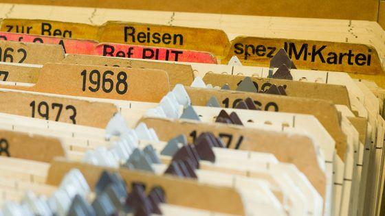 Karteien im Stasi-Unterlagen-Archiv Frankfurt (Oder)