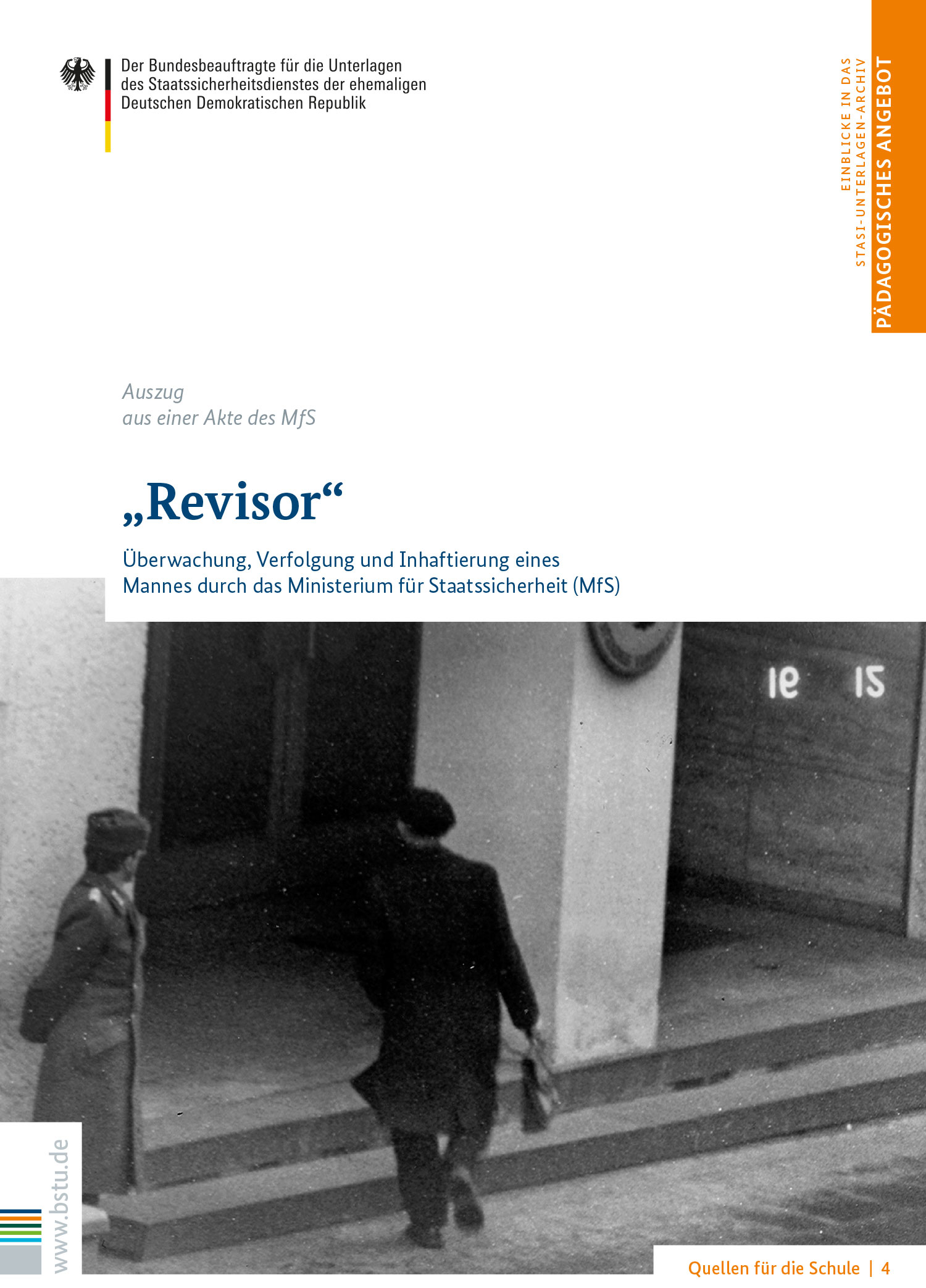 Quellen für die Schule 4: Revisor