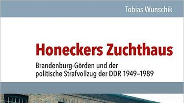 Cover der Publikation 'Honeckers Zuchthaus'