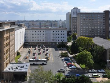 The former Stasi Headquarters. Today: Campus for Democracy