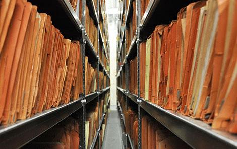 The Berlin archive of BStU.