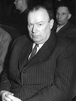 Portrait of Wilhelm Zaisser, Minister of State Security 1950-1953