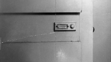 Türklingel an der Haustür mit Aufschrift 'Havemann'