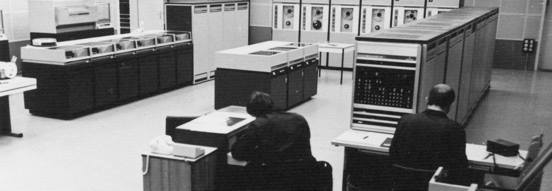 Siemens-Großrechner des MfS Anfang der 70er Jahre