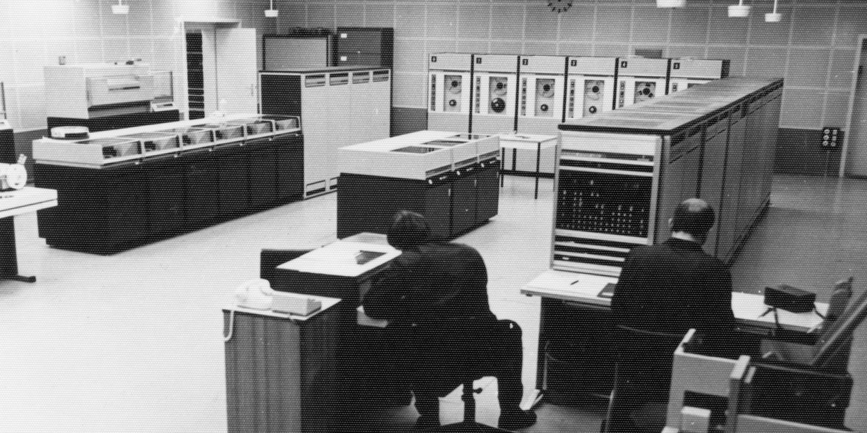 Siemens-Großrechner des MfS