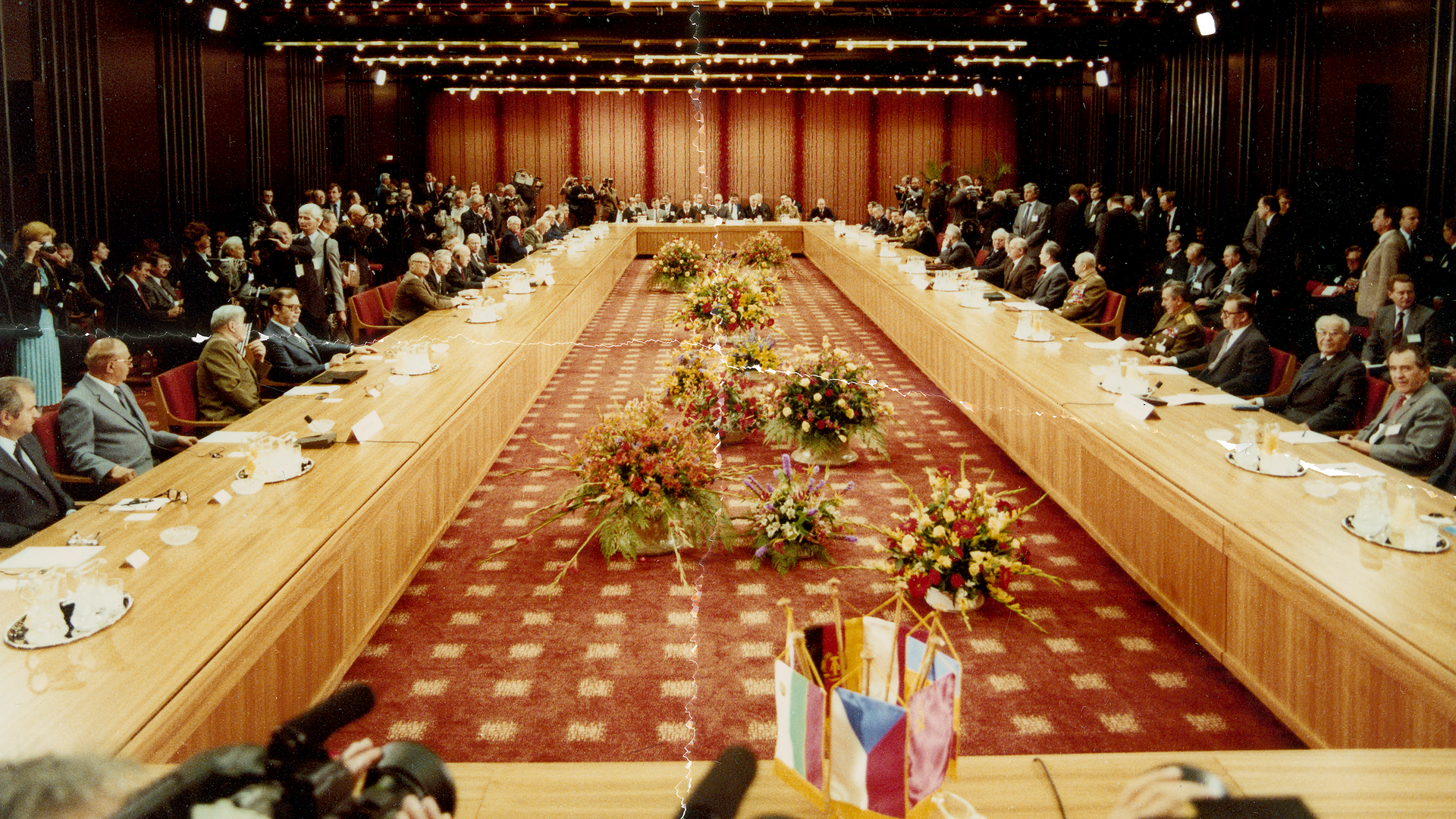 Tagung des politisch beratenden Ausschusses der Warschauer Vertragsorganisation (WVO) im Interhotel Palasthotel in Berlin-Mitte am 28.05.1987