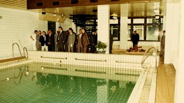 Swimmingpool in Ferienobjekt