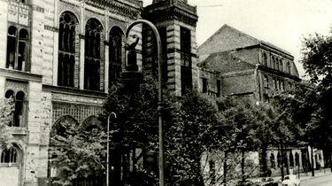 Ruine der Neuen Synagoge in Ost-Berlin
