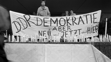 Kundgebung am 4. November 1989 in Berlin-Mitte
