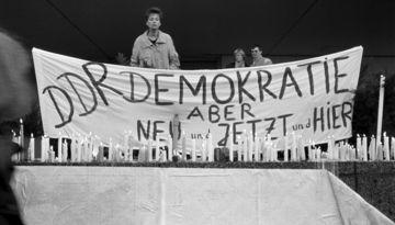 Kundgebung am 4. November 1989 in Berlin-Mitte