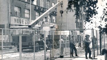 Erneuerung der Berliner Mauer