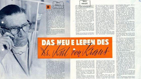 Beitrag über Karl von Kraus in der DDR Revue.