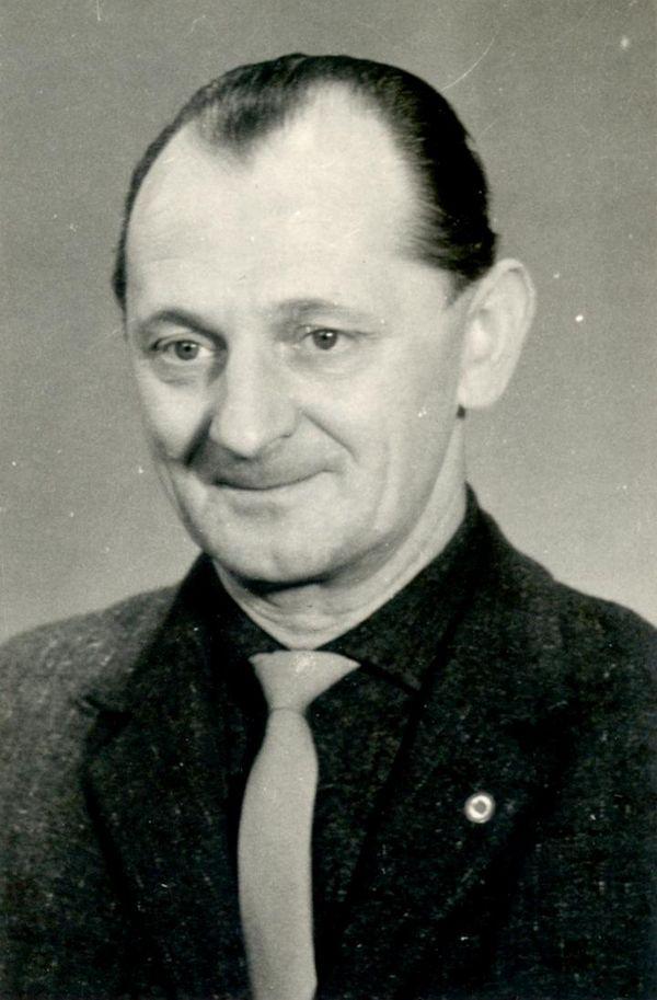Foto von Heinz Herrmann aus seiner Kaderakte.