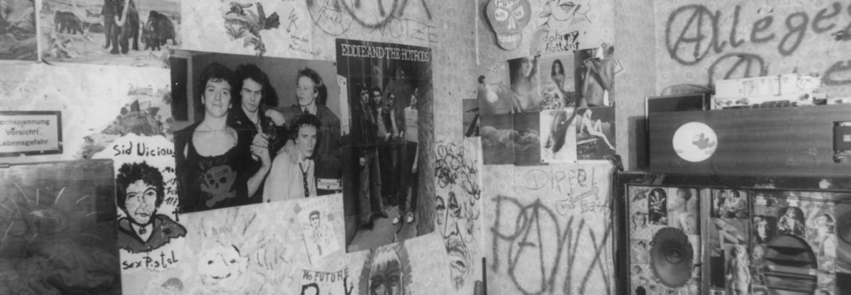 Proberaum der Punk-Band 'Schleimkeim'
