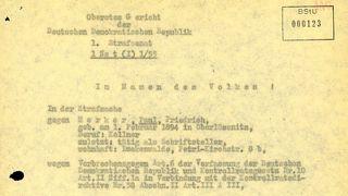 Aufhebung des Urteils gegen Paul Merker am 13. Juli 1956
