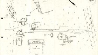 Lageplan des Bunkers